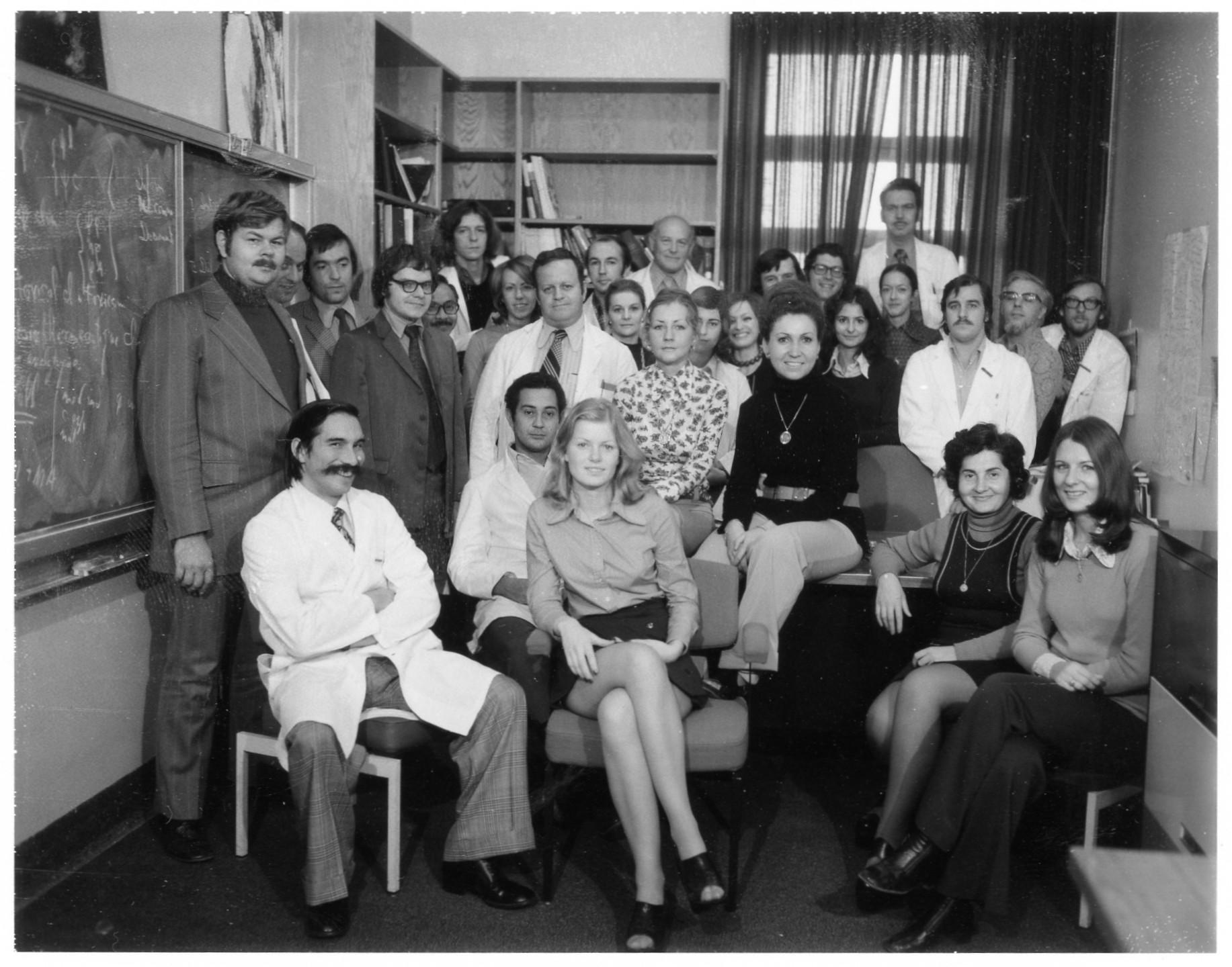 Personnel INRS-Santé 1976
