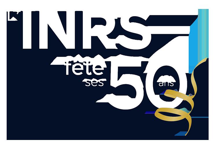 Logo INRS fête ses 50 ans